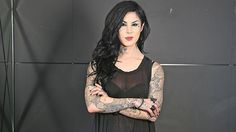 Kat von D by Damian Shaw for The Daily Telegraph