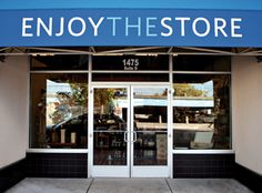 Enjoy Store, Redding, CA.  Cool outlet for quality, local-made treats and goods.