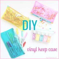 hungryhippie sews: how to sew a vinyl keep case