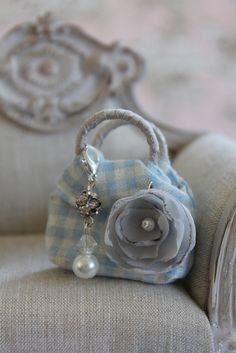 Gigham Bag & Charm | Flickr - Photo Sharing!