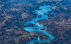 Foto Sungai Berbentuk Naga (Foto:Bonafeed)