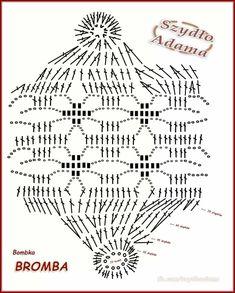 Crochet Ornaments, Christmas Crochet Patterns, Holiday Crochet, Diy Christmas Ornaments, Christmas Angels, Crochet Ball, Thread Crochet, Crochet Stitches, Christmas Angel Decorations