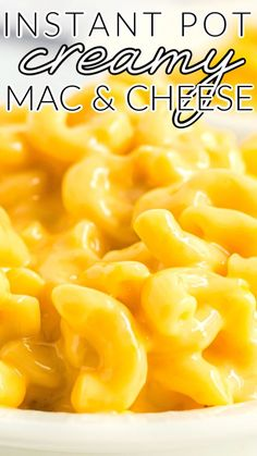 This Instant Pot Mac and Cheese recipe is an easy recipe made with macaroni, butter, evaporated milk, and 3 kinds of cheese. This recipe costs just $7.42 to make and $1.24 per serving! Cheese Recipes, Pasta Recipes, Vegan Recipes, Cooking Recipes, Budget Recipes, Dinner Recipes, Breakfast Recipes, Budget Dinners, Ham Recipes