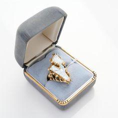 White Gold Charm Bracelet, Pearl Set, Goods And Services, Bvlgari, Lapis Lazuli, Charmed, Bracelets, Rings, Ring