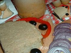 Rozi erdélyi,székely konyhája: Kenőmájas üvegben Panna Cotta, Dairy, Pudding, Lunch, Cheese, Cooking, Desserts, Food, Cook Books