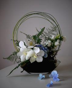 Composition Florale N°317   Akiko Usami