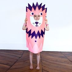 Lion costume for dress up.  They also carry a purple panther, too!!
