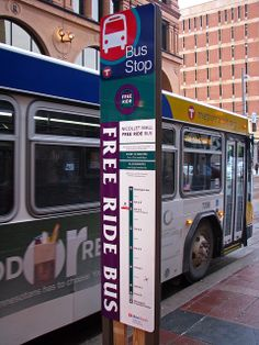 Free Ride Bus Sign by MSPdude, via Flickr