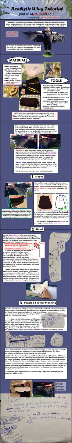 Realistic Wing Tutorial - P.6 WIP by Sunnybrook1 on deviantART