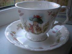 Royal Albert TEA CUP Saucer Benjamin Bunny Boxed Teatime Collection | eBay