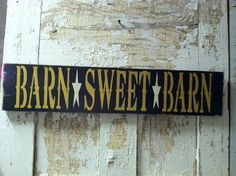 BARN SWEET BARN by TheCountryNook on Etsy
