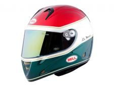 Bell - M5X Le Mans Metallic Red/White/Green