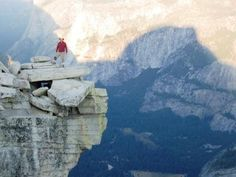 hike half dome!! And take a picture on the diving board