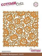 Cottage Cutz - Die - Pumpkin Background