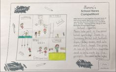 Sammi's School News Competition - Iseult age 9 from Ireland, has created a 'Sports Day' themed headline for Sammi's Newspaper. Thanks for sharing! Steam Toys, Sports Day, Thanks For Sharing, Toys For Girls, Coloring Pages For Kids, Doll Accessories, Newspaper, Competition, Ireland