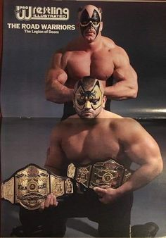 Road Warriors Nwa Wrestling, Watch Wrestling, Wrestling Stars, Wrestling Superstars, Lucha Underground, Ufc, The Road Warriors, Catch, Wwe Pictures
