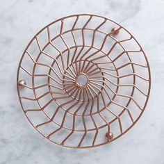 Discover the Considered collection by Helen James. Featuring kitchen linens, storage, serving and cooking utensils. Modern Design, Decorative Plates, Wire, Kitchen Ideas, Copper, Contemporary Design, Brass, Cable