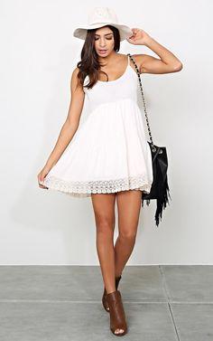 #Crochet Flow Woven #Dress