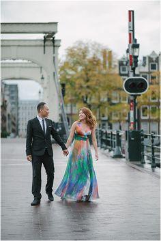 Engagement shoot in Amsterdam by Jennifer Hejna