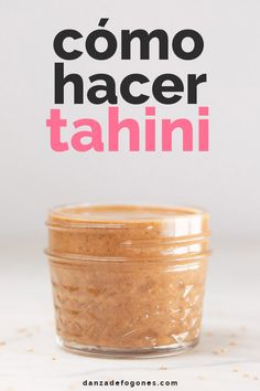 How to make tahini at home using just sesame seeds and oil, which is optional. It's so easy to prepare and healthier and more affordable than store-bought. Vegan Blogs, Vegetarian Recipes, Cooking Recipes, Healthy Recipes, Tofu Recipes, Potato Recipes, Vegetable Recipes, Cooking Tips, Recipies