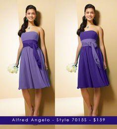 bridesmaid dress option.