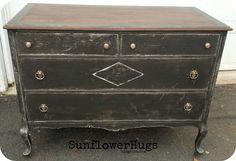 DIY home crafts DIY Rustic Grey Dresser DIY home crafts