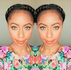 Get Two Styles from Halo Braids   Read the article here - http://www.blackhairinformation.com/general-articles/hairstyles-general-articles/get-two-styles-halo-braids/ #halobraids #hairstyles #transitionstyles #twostylesfromone