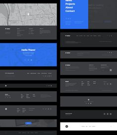 terrific components to create a classy landing page for your startup, product, or app in a blink of an eye. Wireframe Design, Footer Design, Interface Design, Layout Design, Game Ui Design, Web Ui Design, Page Design, Flat Design, Footer Web