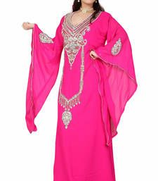Buy pink kaftan islamic dress  Reaymade Abaya online