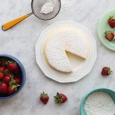 3-Ingredient Japanese Cheesecake