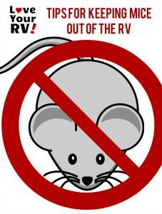 Tips to Keep Pesky Mice Out of Your RV from the Love Your RV! blog - http://www.loveyourrv.com/ #RVing #RVlife