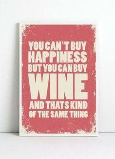 leuke tekst voor in de keuken boven de wijnvoorraad.