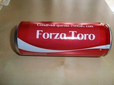 Forza Toro Torino Fc, Beverages, Drinks, Coca Cola, Ale, Sunglasses Case, Canning, Football, Tips