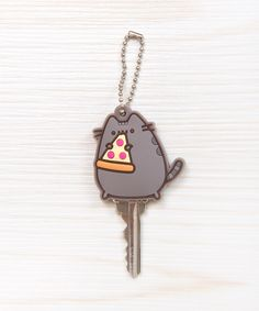 Pizza Pusheen key cap, <3.