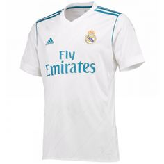 0a69f37ba11 17-18 Real Madrid Home Soccer Jersey Shirt(Player Version) Jersey Real  Madrid