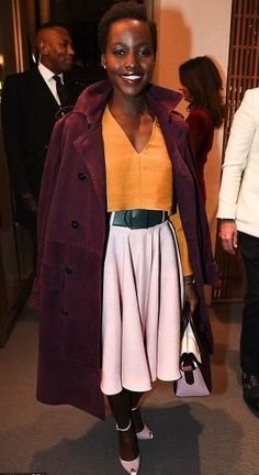 H LUPITA NYONG'O ΜΕ BALLY.  http://www.instyle.gr/look-of-the-day/