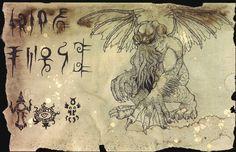 Unaussprechliches Dokument 001 - Anbetung von Cthulhu