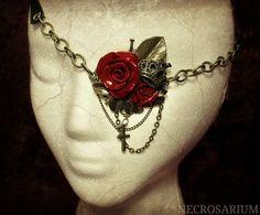 Visual Rose Eyepatch 3 by Necrosarium.deviantart.com on @deviantART