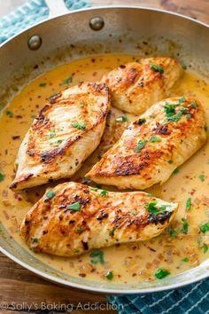 Las salsas cremosas > que todas las demás. Aquí estácomidas la receta.