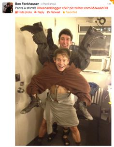 As if you needed any more reasons to love the Newsies cast.