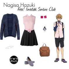 """Nagisa Hazuki Closplay - Free! I watobi Swim Club / Eternal Summer"" by closplaying on Polyvore"