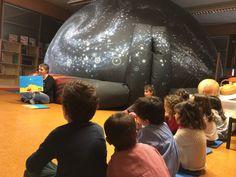 Planetario en el colegio. Ver las estrellas de cerca o asistir a una lluvia de estrellas o un eclipse