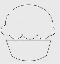 Gy Farias: Moldes de cupcakes