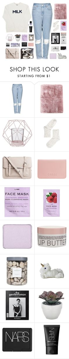 """(7)"" by via-m ❤ liked on Polyvore featuring Topshop, La Perla, Bloomingville, Monki, Pieces, Coast, H&M, shu uemura, Korres and Threshold"