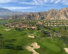 Get a bird's-eye view of the Palmer Private Course at PGA West - La Quinta, California