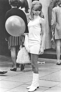 the style in the 60's....hot pants n go go boots....!