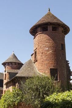 Collonges-la-Rouge - Corrèze dept. - Limousin région, France