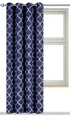 Cassidy Curtain - Blue - Chambray   *Window Treatments > Curtains ...