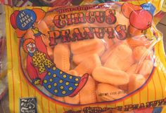 Ohhhh YES The Circus Peanuts Candy...