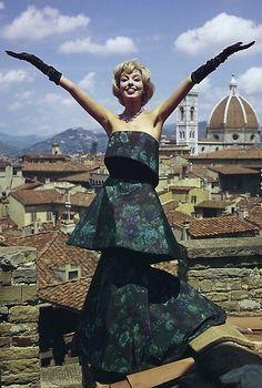 Dress by Cesare Guidi, 1960.